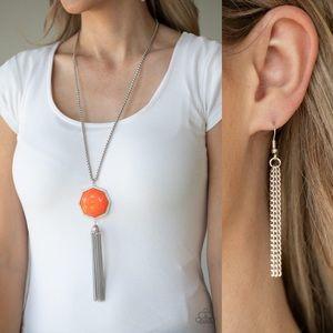 ❤️Prismatically Polygon Necklace Set